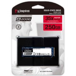 Kingston 250GB A2000 M.2 2280 NVMe Internal SSD